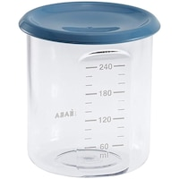 Recipient ermetic din tritan Beaba, 240 ml, Albastru