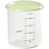 Recipient ermetic din tritan Beaba, 240 ml, Verde