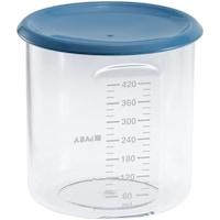 Recipient ermetic din tritan Beaba, 420 ml, Albastru