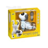 Magic Toys 2246812 Interaktív akrobatikus robot kutya fénnyel és hanggal