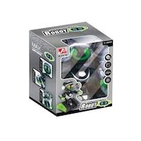 Magic Toys 3587723 Interaktív távirányítós robot fekete-zöld színben fénnyel és hanggal