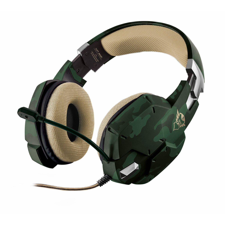 Fotografie Casti gaming Trust GXT 322C, Green camouflage