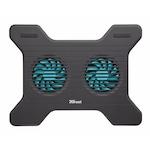 """Trust Xstream Breeze laptop cooler, 16"""", Fekete"""