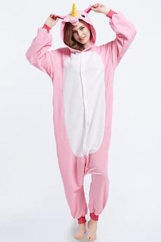 Onesie Kigurumi pizsama, Egyszarvú Rózsaszín