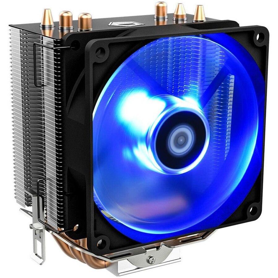 Fotografie Cooler procesor ID-Cooling SE-903 V2 Blue LED, compatibil AMD/Intel