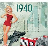 CD картичка с хитове от 1940 година