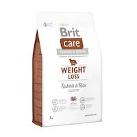 Суха храна за кучета Brit Care, Weight Loss, Заек & Ориз, 3 кг