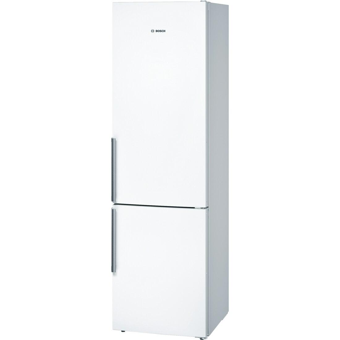 Fotografie Combina frigorifica Bosch KGN39VW35, 366 l, Clasa A++, No Frost, VitaFresh, Iluminare LED, H 203 cm, Alb