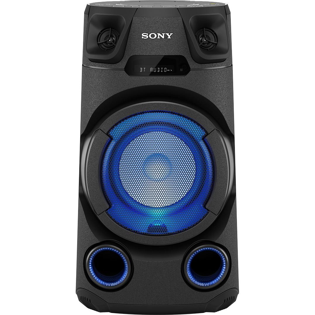 Fotografie Sistem audio High Power, SONY MHC-V13, Jet BASS Booster, Bluetooth, USB, CD, negru