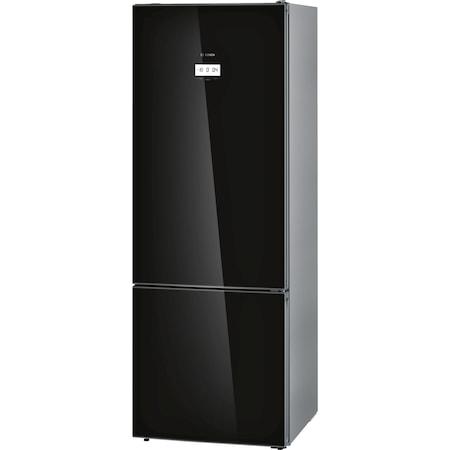 Combina frigorifica Bosch KGF56SB40, 480 l, Clasa A+++, No Frost, VitaFresh Pro, Iluminare LED, TouchControl, H 193 cm, Negru