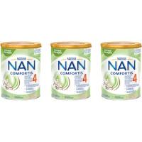 Formula de lapte praf Nestle NAN 4 Comfortis, 3x800 g, de la 2 ani
