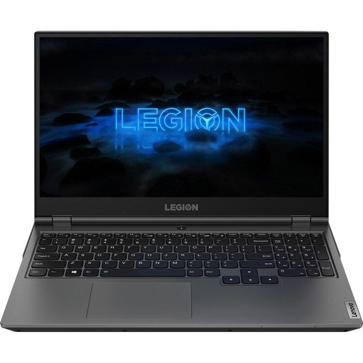 "Fotografie Laptop Gaming Lenovo Legion 5P 15ARH05H cu procesor AMD Ryzen 7 4800H pana la 4.20 GHz, 15.6"", Full HD, 144Hz, 16GB, 1TB SSD, NVIDIA GeForce GTX 1660 Ti 6GB, Free DOS, Iron Grey"
