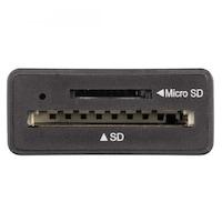 Четец на карти за Смартфони/Таблети/Лаптопи/PC HAMA, USB 2.0, Черен