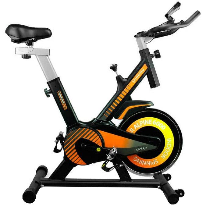 Fotografie Bicicleta spinning Gridinlux Alpine 6000, volant 10kg