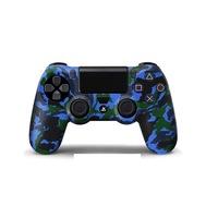PS4 sorozat - kontroller védő szilikon és joystick védő gomb- swat desing - terepmintás -8