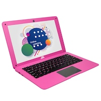 "Детски лаптоп SMART TabbyBoo NetBook, Quad Core, 10.1"", 1.8 GHz, 32GB Памет, 2GB RAM, DDR3, Android 7, Розов"