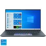 "Laptop ultraportabil ASUS ZenBook 14 UX435EG cu procesor Intel® Core™ i5-1135G7 pana la 4.20 GHz, 14"""", Full HD, 8GB, 512GB SSD, NVIDIA® GeForce® MX450 2GB, Windows 10 Home, Pine Grey"