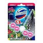 Domestos Power 5 WC-frissítő Blokk Zebra Limited Edition Fresh Flowers 55g