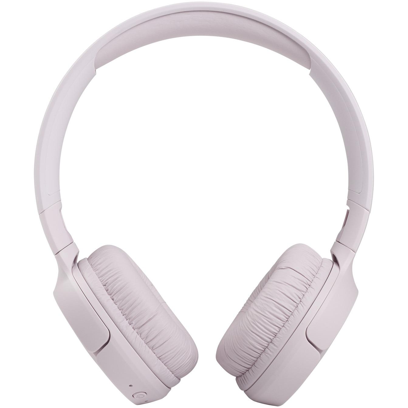 Fotografie Casti audio on-ear JBL Tune 510, Bluetooth, Asistent vocal, Pure Bass, 40 h, Multi-point, Rose