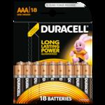Duracell BSC 18 darab AAA elem - DL