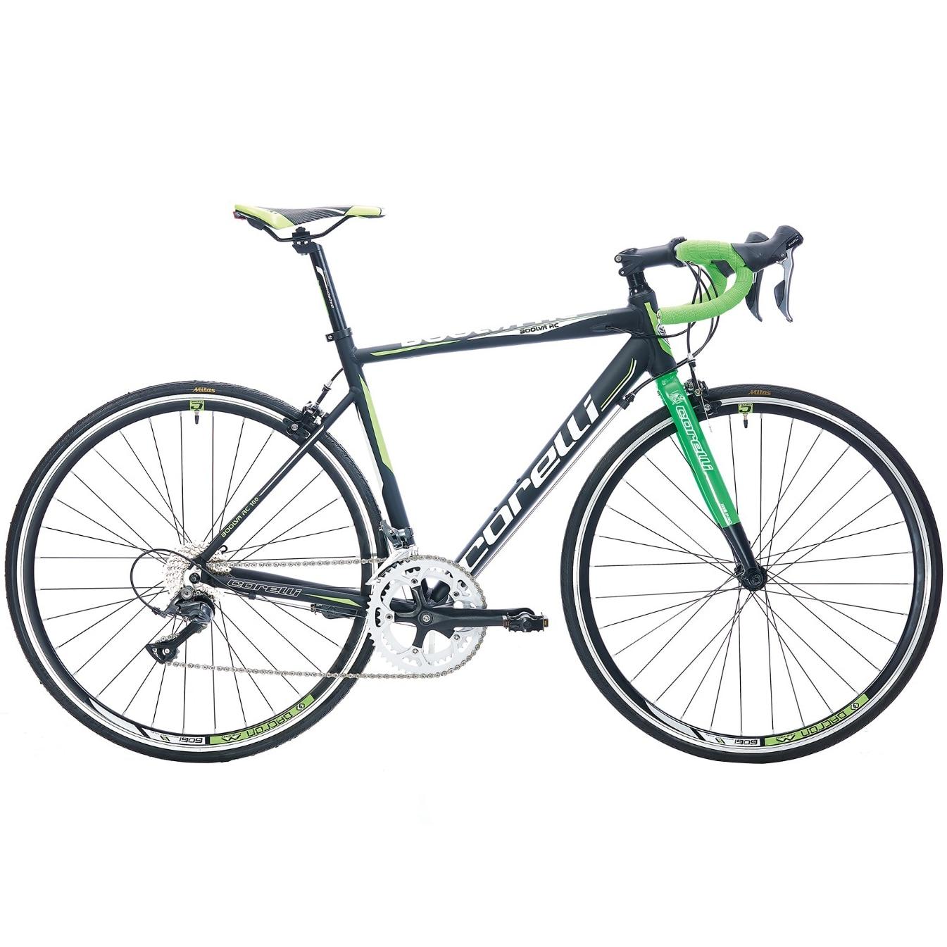 Fotografie Cursiera adulti Corelli BOALVA RC100, roti 700cc, echipare Shimano Claris, marime cadru 54 cm, culoare alb-verde