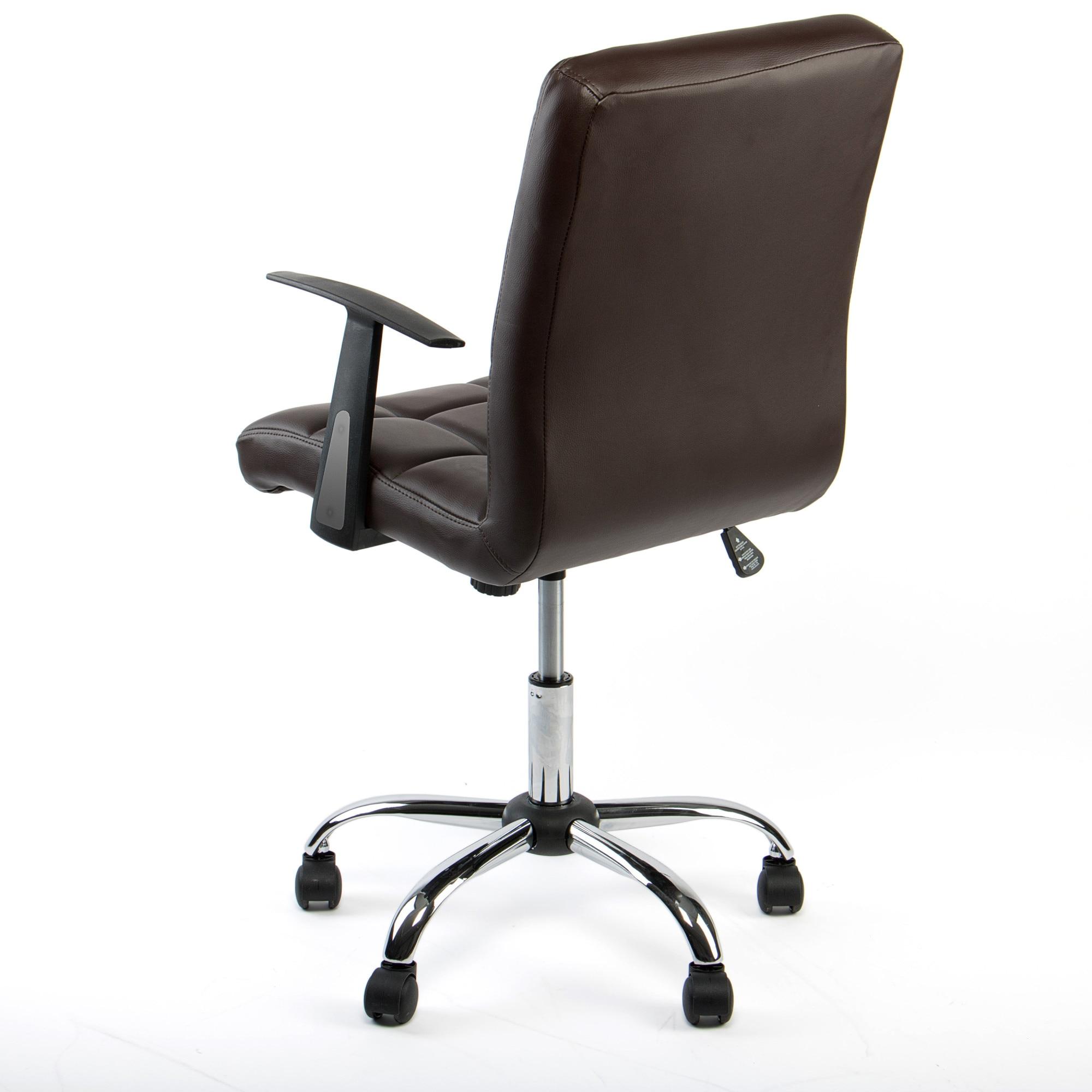 Kring Windsor Ergonomikus irodai szék, Műbőr, Barna eMAG.hu