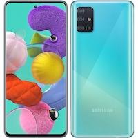 Смартфон Samsung Galaxy A51, 128GB, 4GB RAM, 4G, Dual SIM, Prism Blue
