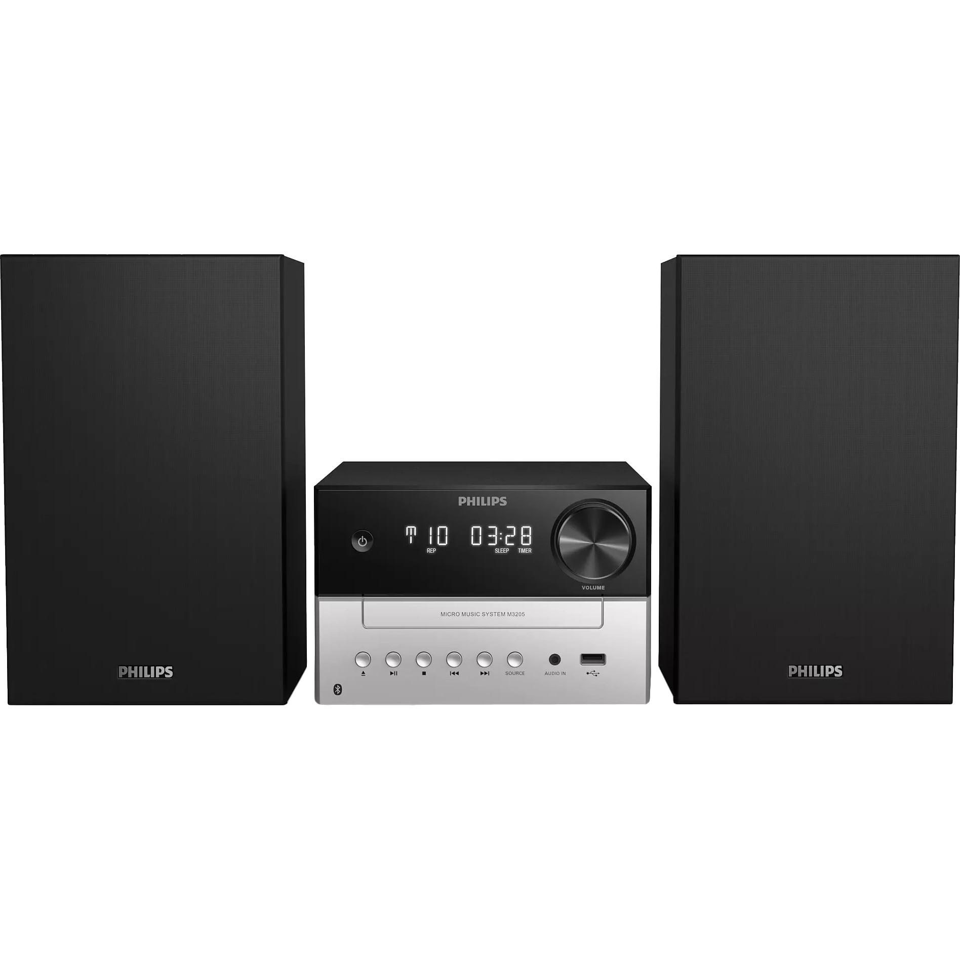 Fotografie Microsistem Philips TAM3205/12 CD, 18 W, MP3-CD, FM, USB,