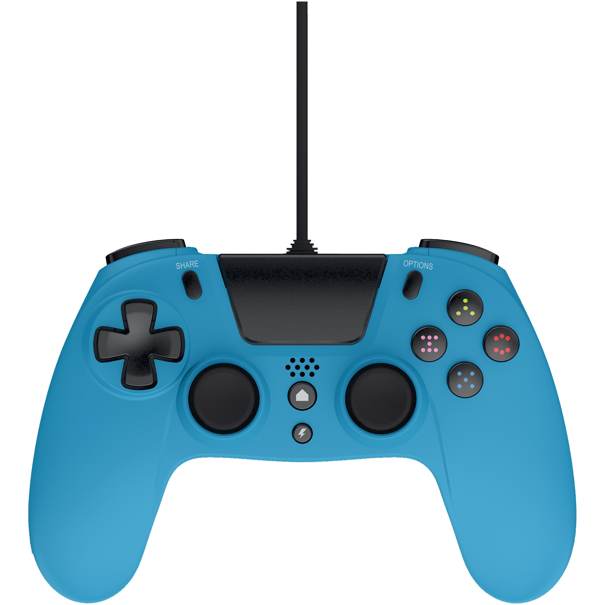Fotografie Controller Gioteck VX-4 WIRED (PS4) (BLUE)