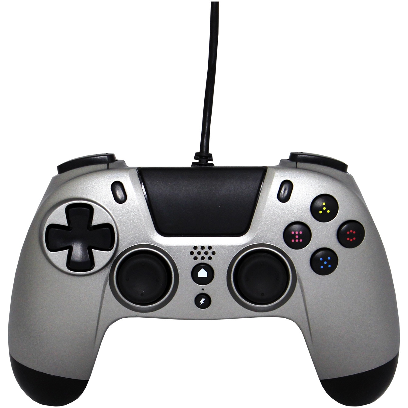 Fotografie Controller Gioteck VX-4 WIRED (PS4) (TITANIUM)