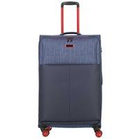 Bőrönd TRAVELITE Proof L Kék 4 kerekű bővíthető nagy