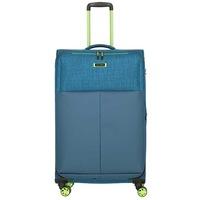 Bőrönd TRAVELITE Proof L Türkiz 4 kerekű bővíthető nagy