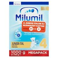 Milumil 4 Vaníliaízű Junior ital 2 éves kortól, 2 x 500 g (1000 g)