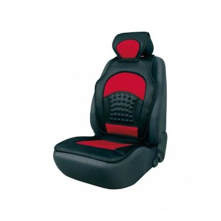 Седалка масажна за автомобил AutoMax, Магнитна, Универсална, Червена, 9811