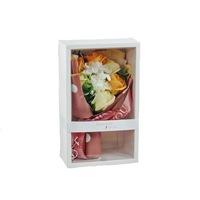 BoxEnjoy - szappan rózsacsokor krémszínű díszdobozban