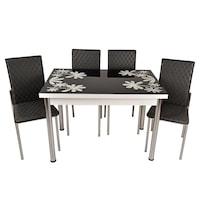 masa cu 4 scaune terasa