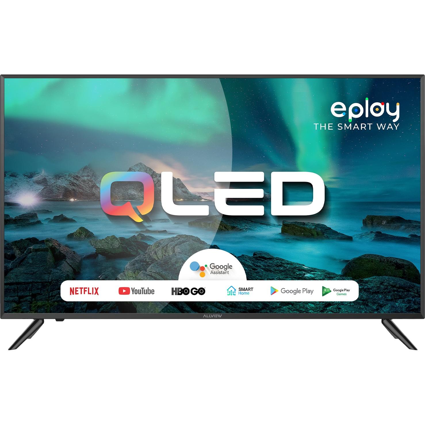 Fotografie Televizor Allview QL43ePlay6100-U, 108cm, Smart, 4K Ultra HD, QLED, Clasa G