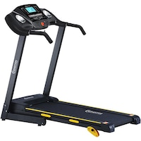 Banda alergare, 1.25 cai putere, viteza: 0.8-13.5 km/h, inclinare manuala 3 pozitii, greutate maxima utilizator: 110 kg