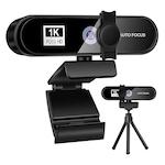 Camera web,Vaxiuja,Full HD 1080p,2MP,Autofocus,Dual Microfon,30fps, anulare zgomot de fond,Tripod inclus,negru