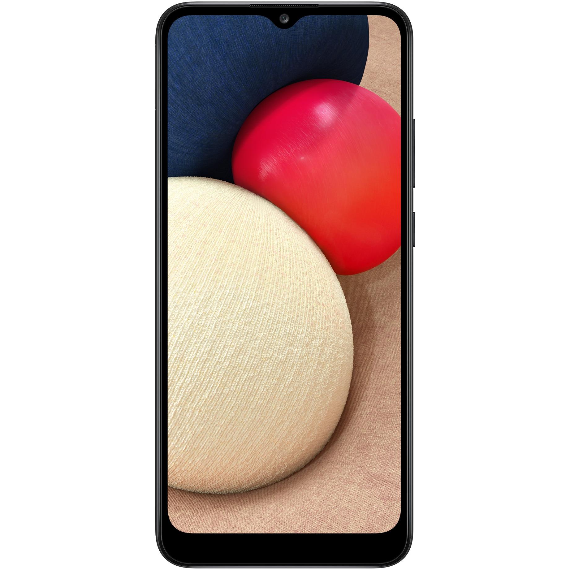 Fotografie Telefon mobil Samsung Galaxy A02s, Dual SIM, 32GB, 4G, Black