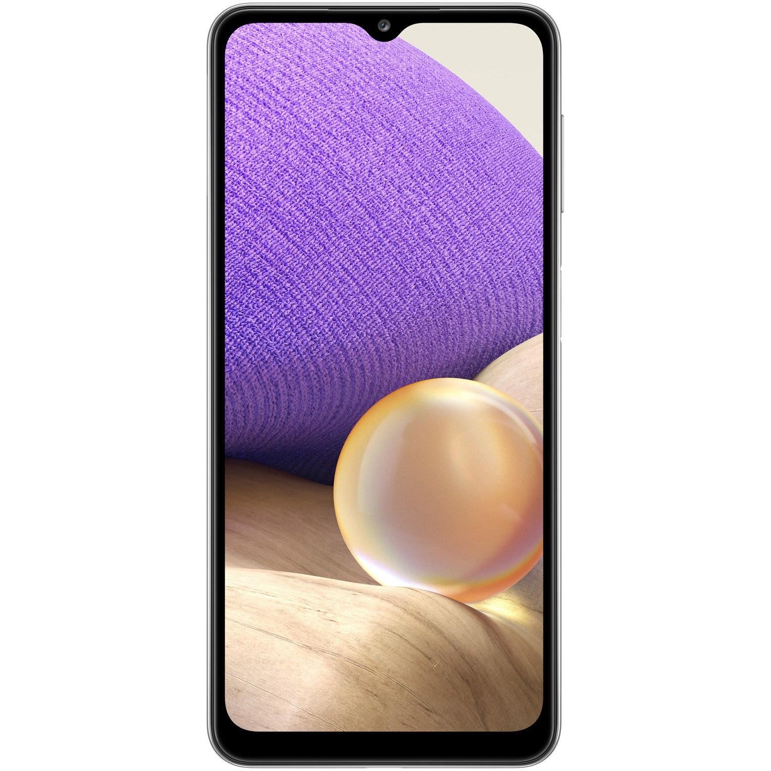 Fotografie Telefon mobil Samsung Galaxy A32, Dual SIM, 64GB, 5G, Awesome White