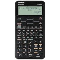 Calculator stiintific SHARP 16 digits, 422 functiuni,EL-W531TL - negru