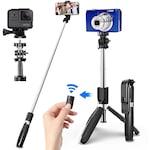 Селфи стик с блутут L02, Трипод, Монопод, Bluetooth , Selfie stick