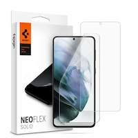 Протектор Spigen Neo Flex Solid 2бр. за Samsung Galaxy S21+ Plus, Прозрачен