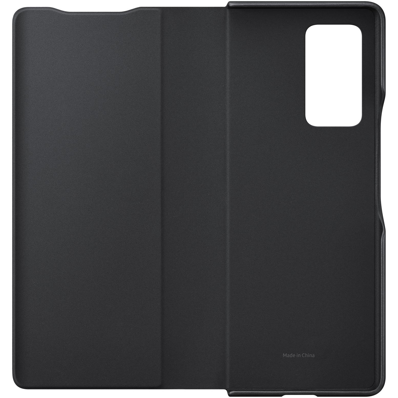 Fotografie Husa de protectie Samsung Leather Flip Cover pentru Z Fold2, Black