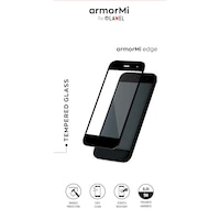 Закалено стъкло armorMi за Xiaomi Redmi Note 10 Pro, Черна рамка