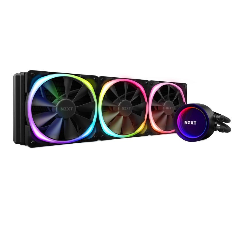 Fotografie Cooler Procesor NZXT Kraken X73 RGB, compatibil AMD/Intel