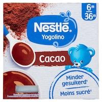 Nestlé Yogolino Kakaós babapuding, 4x100g