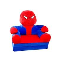 Spiderman Plüss fotel 85x45x40cm, kék