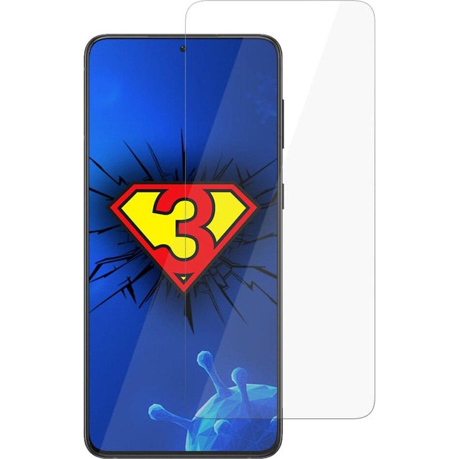 Fotografie Folie de Protectie 3MK Antimicrobiana Silver Protection pentru Samsung Galaxy S21 Plus